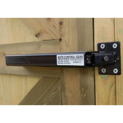 Lockey Systems TB175BL Hydraulic Residential Gate Closer - Black