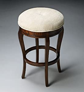 "Amazon.com - Accent Furniture - ""Hanover Square"" Vanity Stool -"