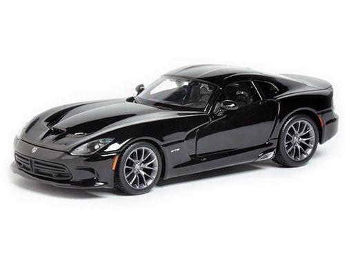 maisto-2013-dodge-viper-srt-gts-1-24-scale-diecast-model-car-black