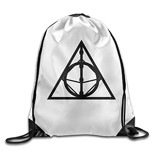 Carina Deathly Hallows Sign Personality Backpack One Size