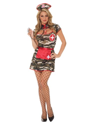 5 pc Sexy Army Nurse Costume from Silvermoon