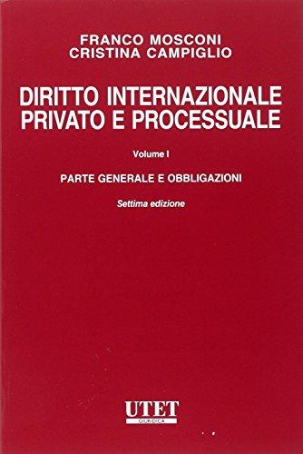 Diritto internazionale privato e processuale 1 PDF