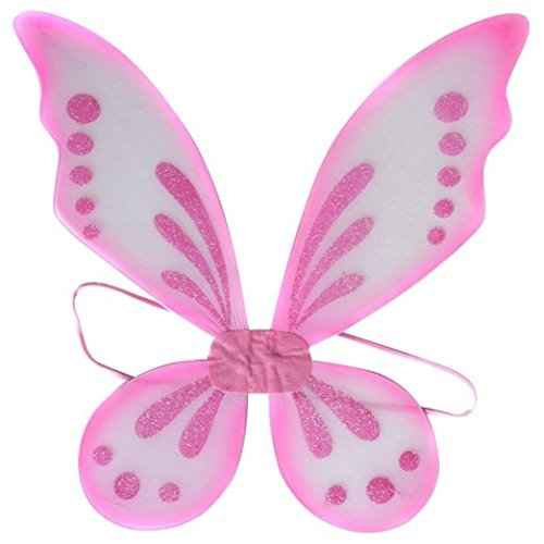 Pink Sparkle Pixie Wings - 1