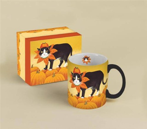 Lang Pumpkin Scooter Mug, 14-Ounce