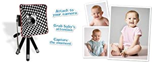 Shutter Buddy Baby Snapshot Sidekick, Capture and Hold Baby's Attention