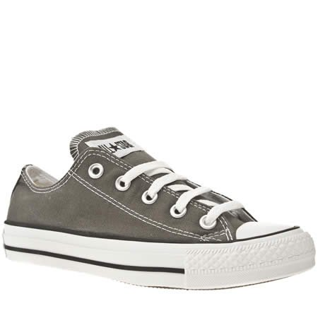 Converse As Speciality Ox Ii - 5 Uk - Dark Grey - Fabric