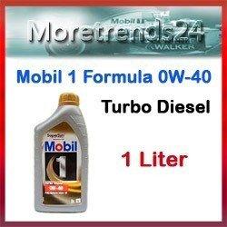 MOBIL 1 Turbo Diesel 0W-40 1 Liter Motoröl Motorenöl