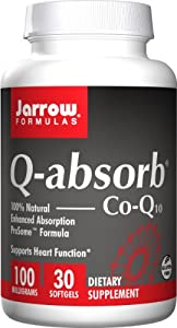 Jarrow Formulas Q-Absorb Co-Q10, 100 mg, 30 Count