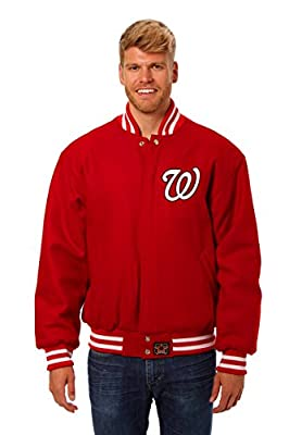 Washington Nationals Wool Varsity Jacket
