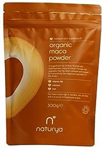 NaturyaOrganicMaca 300 g Nutritional Power Food Pouch