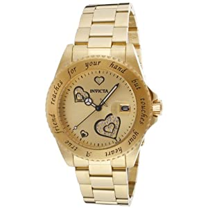 Invicta Women's 14733 Angel Analog Japanese-Quartz Two Tone Watch