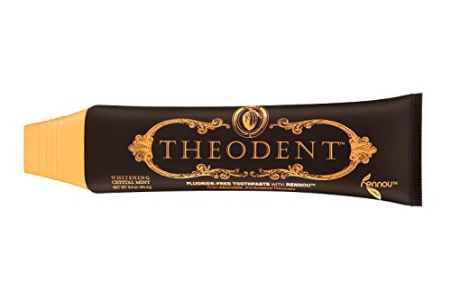 THEODENT CLASSIC with Rennou: Whitening Crystal Mint - Fluoride-Free Toothpaste Rebuilds, Hardens, and Strengthens Enamel to Reduce Sensitivity by Repairing Enamel (Theodent Classic compare prices)