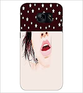 PrintDhaba Face D-5353 Back Case Cover for SAMSUNG GALAXY S7 (Multi-Coloured)