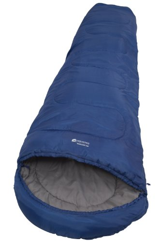 Basecamp 250 1-2 Spring Summer Season 1.2Kg Camping Sleepover Sleeping Bag - Colour Blue Size One Size