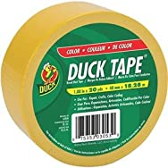 ShurTech Brands, LLC 519615 Duck Tape Colored Duct Tape-YELLOW DUCK TAPE