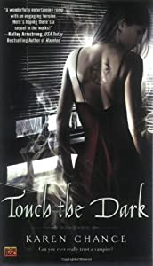 "Cover of ""Touch the Dark (Cassandra Palme..."