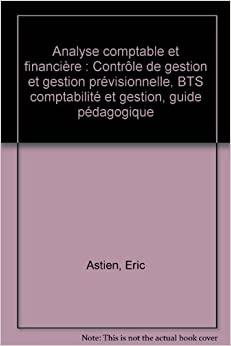 Analyse comptable et financi re contr le de gestion et for Table financiere