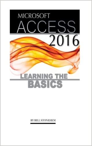 Microsoft Access 2016 Learning The Basics By BillStonehem