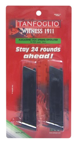 SoftAir Tanfoglio Colt 1911 12 Round Airsoft Magazines (2 Pack)