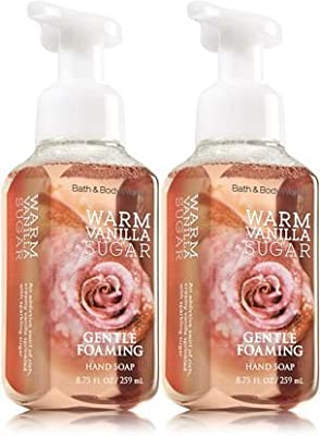 Bath&body Works Gentle Foaming Hand Soap 8.75oz Warm Vanilla Sugar Pack of 2