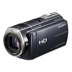 SONY デジタルHDビデオカメラレコーダー CX520V 内蔵メモリー64GB ブラック HDR-CX520V/B