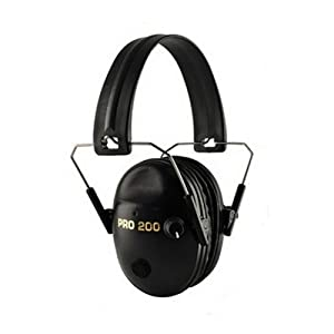 Pro Ears Pro Tac 200 NRR 19 Black Electronic Hearing Protection Headset PT200-B... by Pro Ears
