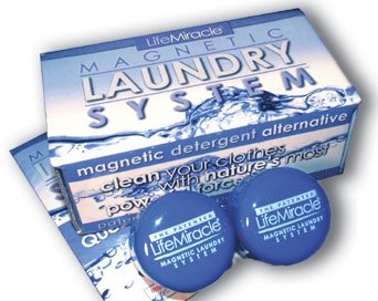 Laudry System - Detergent Free Cleaning Action, Economical, Environmentally Safe and Very Easy To Use!