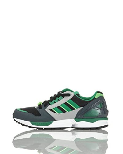 adidas Sneaker Zx 8000 [Nero/Verde/Grigio]