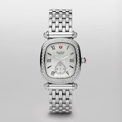 Michele Caber Isle Mother of Pearl Dial Stainless