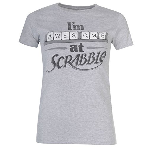 Goodie Two Sleeves -  T-shirt - Donna Scrabble Large