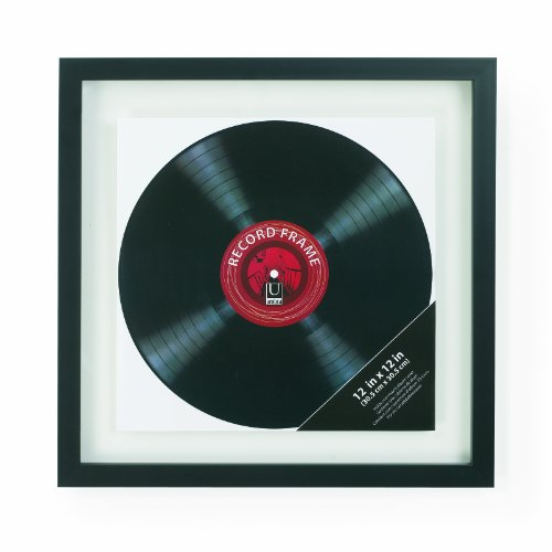 Umbra Record 12-Inch by 12-Inch Wall Frame