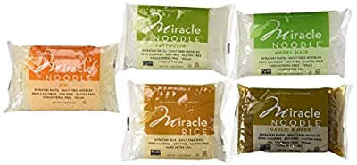 Miracle Noodle 5 Flavor Sampler Pack by Miracle Noodle