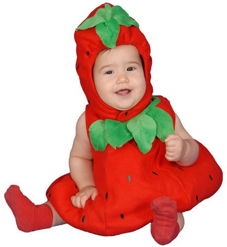 Strawberry Halloween Costumes for Babies
