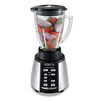 Oster BVCB07-Z Blender Superior Quality  Get ready to blend a variety of delicious food and tasty beverages! The Oster Blender is made in North America, and backed by the superior quality and power of All-Metal Drive. The two connecting pieces ar...