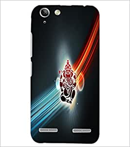 PrintDhaba Lord Ganesha D-4532 Back Case Cover for LENOVO VIBE K5 PLUS (Multi-Coloured)