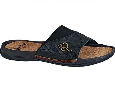 Amazon.com: Nike 10r Chinelo Sandals - Black with Metallic