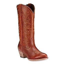 Ariat Women\'s Desert Holly Western Cowboy Boot, Cedar, 9.5 B US