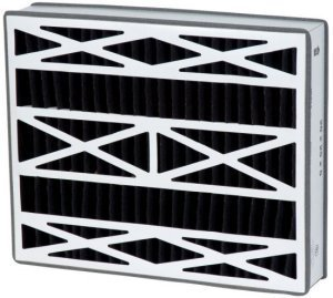 16x25x3 (15.75x24.25x3) Carbon Odor Block Lennox Replacement Filter by Accumulair