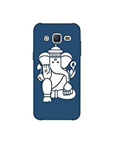 SAMSUNG TIZEN Z3 nkt-04 (49) Mobile Case by Mott2 - Om Ganesha White (Limited Time Offers,Please Check the Details Below)