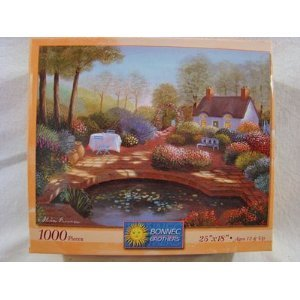 "The Art of Nicky Boehme 1000 Piece Puzzle ""No Place Like Home"" - 1"