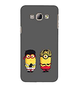 EPICCASE Karate Minions Mobile Back Case Cover For Samsung Galaxy A3 (Designer Case)