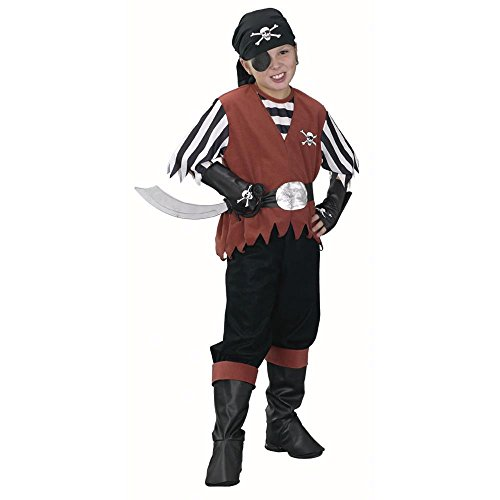 Child's Boy's Pirate Costume (Size:Large 12-14)