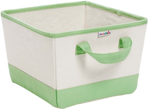 Best Price! Munchkin Canvas Nursery Bin, Green