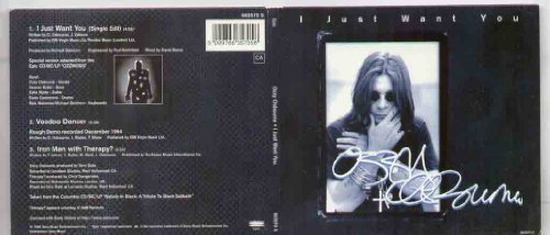 Ozzy Osbourne - I Just Want You (CDS, 663549 2) - Zortam Music