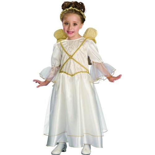 Child Ivory Angel Christmas Costume