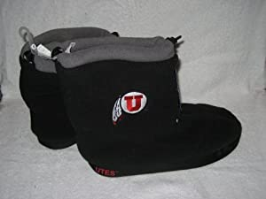 Ladies Ladies Size Extra-small: 6-7 Fleece Slipper Booties Boots 180s by NCAA