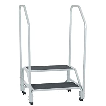 Tk Manufacturing 2 Step Bariatric Step Stool With 2