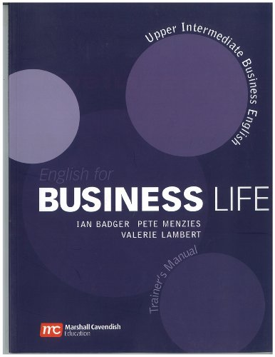 English for Business Life Trainer's Manual: Upper Intermediate Level