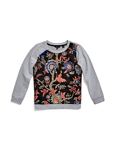 GUESS Mixed-Media Sweatshirt (6-16y)