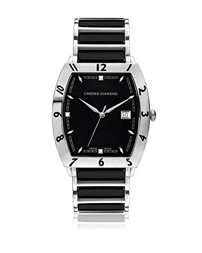 Chrono Diamond Reloj con movimiento cuarzo suizo Man 10300Cr Leandro